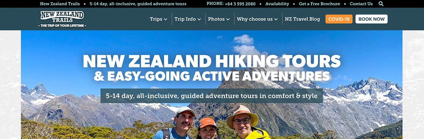 New Zealand Trails Header