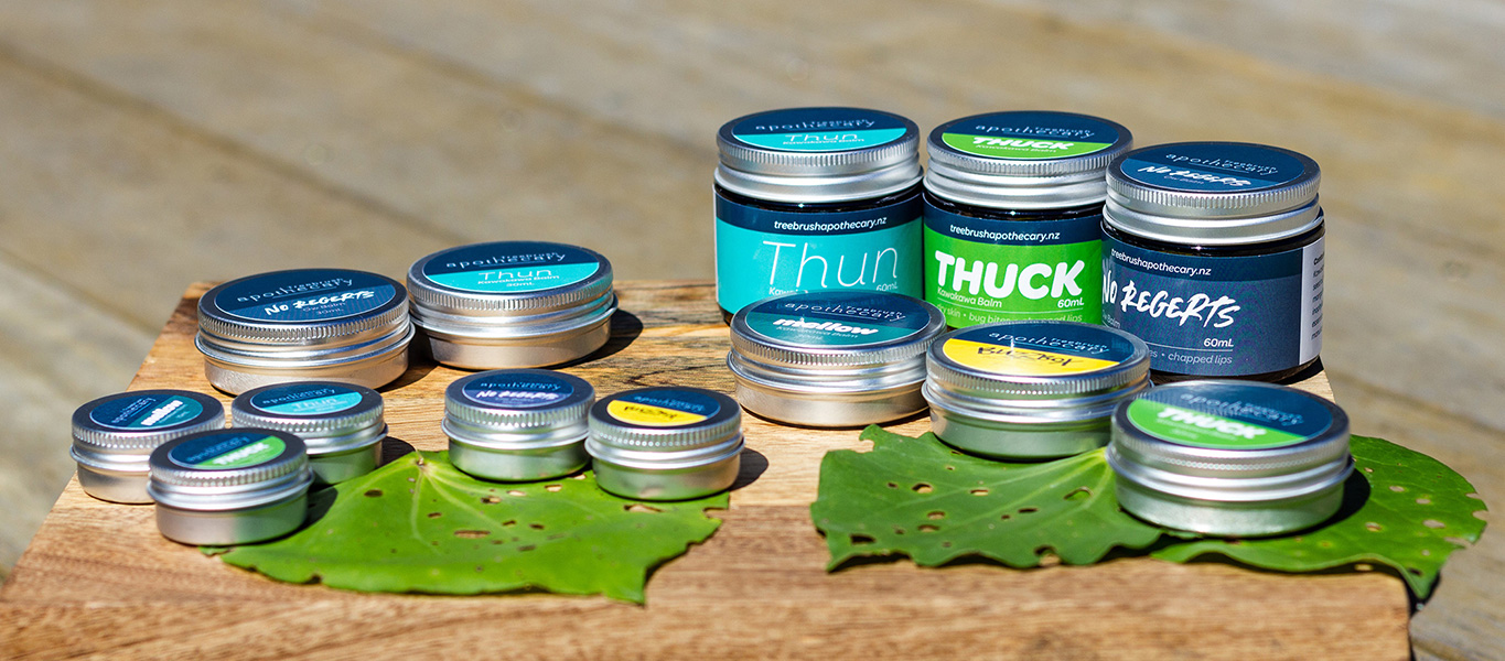 Treebrush Apothecary - Branding and Product Design