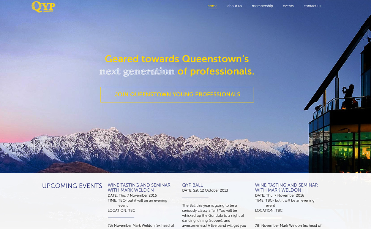 Queenstown Young Professionals