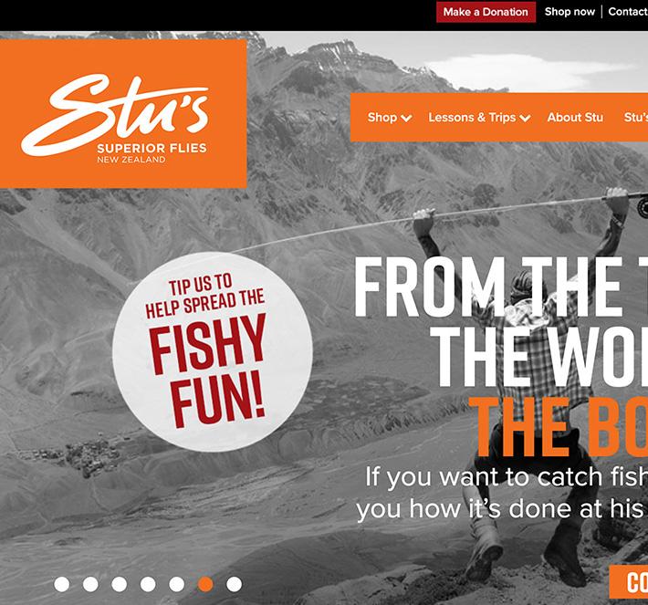 Stu's Fly Fishing School