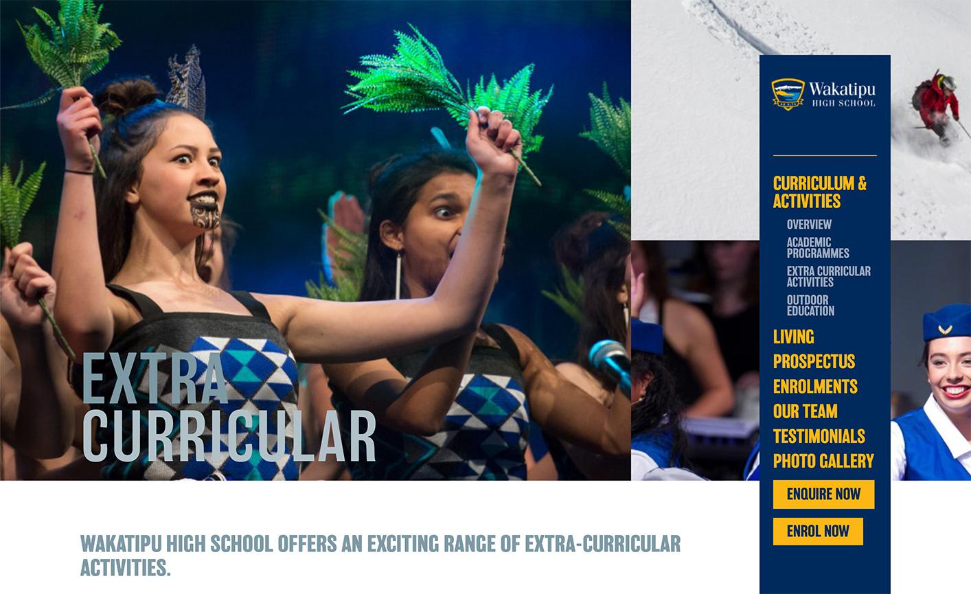 Wakatipu High School - International