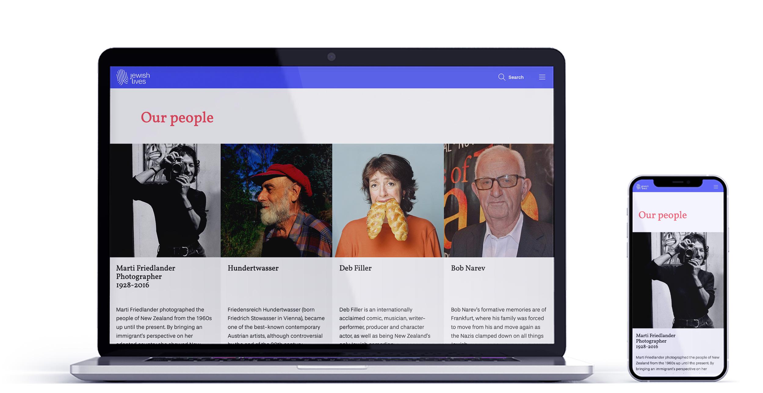 Jewish Lives Website